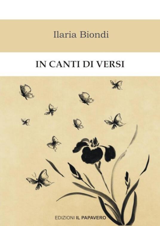 In canti di versi - Ilaria Biondi - copertina