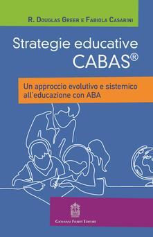 Rallydeicolliscaligeri.it Strategie educative Cabas. Un approccio evolutivo e sistemico all'educazione con ABA Image
