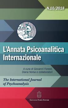 Winniearcher.com L' annata psicoanalitica internazionale. The international journal of psychoanalysis (2018). Vol. 10 Image