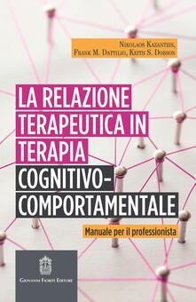 Radiospeed.it La relazione terapeutica in terapia cognitivo-comportamentale. Manuale per il professionista Image