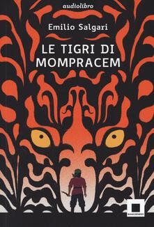 Antondemarirreguera.es Le tigri di Mompracem. Ediz. ad alta leggibilità. Con audiolibro Image