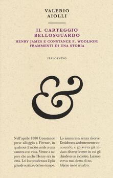 Radiospeed.it Il carteggio Bellosguardo. Henry James e Constance F. Woolson: frammenti di una storia Image