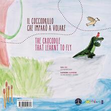 Osteriacasadimare.it Il coccodrillo che imparò a volare. Ediz. italiana, inglese, francese e tedesca Image