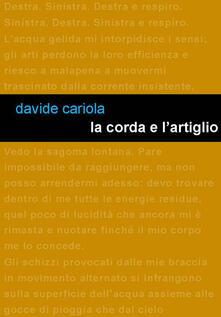La corda e l'artiglio - Davide Cariola - copertina