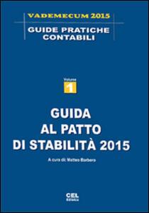 Guida al patto di stabilità 2015