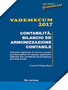 Listadelpopolo.it Vademecum 2017. Contabilità, bilancio ed armonizzazione contabile Image