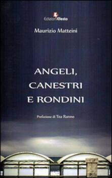 Angeli, canestri e rondini - Maurizio Matteini - copertina