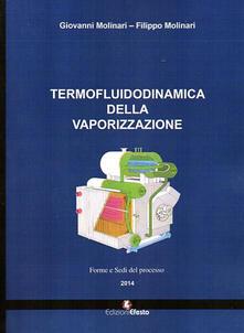 Termofluidodinamica della vaporizzazione. Modalità e componenti del processo - Giovanni Molinari,Filippo Molinari - copertina