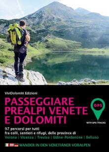Lpgcsostenible.es Passeggiare in Prealpi e Dolomiti. 100 percorsi per tutti fra colli, sentieri e rifugi, delle province di Verona, Vicenza, Treviso, Udine, Belluno Image