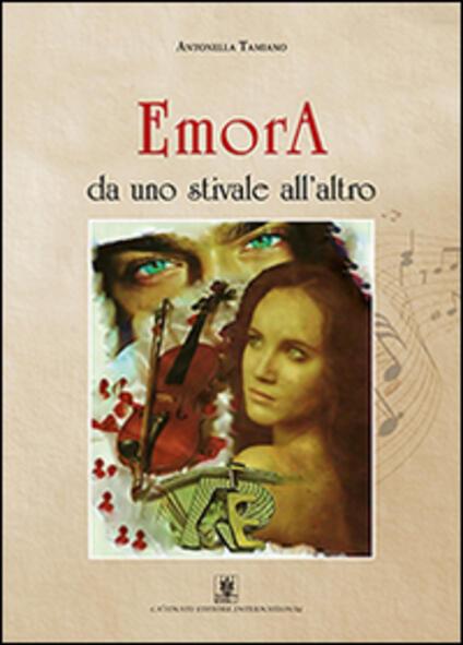 EmorA «da uno stivale all'altro» - Antonella Tamiano - copertina