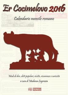 Daddyswing.es Cocimelovo 2016. Calendario mensile romano (Er) Image