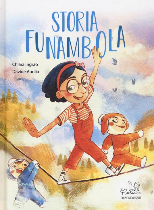 Storia funambola - Chiara Ingrao - copertina