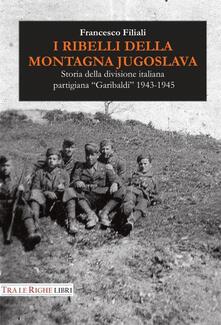 I ribelli della montagna jugoslava. Storia della divisione italiana partigiana «Garibaldi» 1943-1945 - Francesco Filiali - copertina