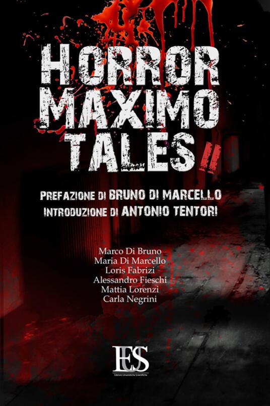 Horror maximo tales. Vol. 2 - copertina