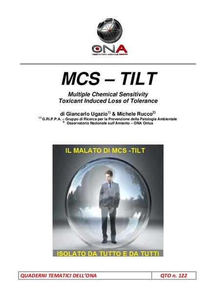 Mcs Tilt Multiple Chemical Sensitivity Toxicant Induced Loss Of Tolerance Rucco Michele Ugazio Giancarlo Ebook Pdf Con Light Drm Ibs
