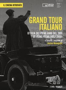 Grand Tour italiano. 61 film dei primi anni del '900. Ediz. italiana e inglese. DVD