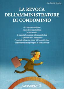 La revoca dellamministratore di condominio.pdf