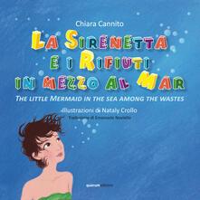 Mercatinidinataletorino.it La sirenetta e i rifiuti in mezzo la mar-The little mermaid in the sea among the wastes Image