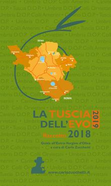 La Tuscia dell'EVO 2019. Raccolto 2018 - copertina