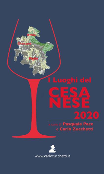 I luoghi del Cesanese 2020 - copertina