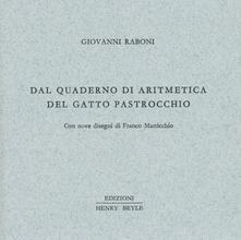 Criticalwinenotav.it Dal quaderno di aritmetica del gatto Pastrocchio Image