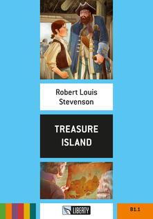 Treasure island. Con File audio per il download - Robert Louis Stevenson - copertina