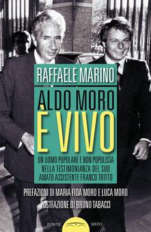 Parcoarenas.it Aldo Moro è vivo. Un uomo popolare e non populista nella testimonianza del suo amato assistente Franco Tritto Image