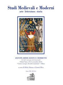 Lpgcsostenible.es Studi medievali e moderni. Arte letteratura storia (2016). Vol. 2: Dantis amor. Dante e i Rossetti. Atti del convegno internazionale (Chieti-Vasto, 18-21 novembre 2015). Image