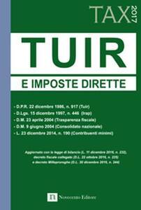 TUIR e imposte dirette 2017