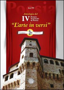 Premio nazionale di poesia «L'arte in versi». 4ª edizione - copertina