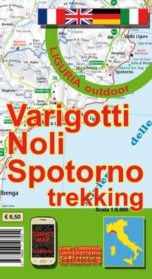 Cefalufilmfestival.it Varigotti, Noli, Spotorno trekking. Carta dei sentieri 1:8.000 Image