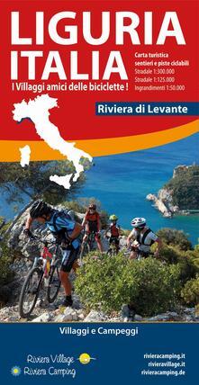 Festivalpatudocanario.es Liguria Italia riviera di Levante. Carta turistica, sentieri e piste ciclabili Image