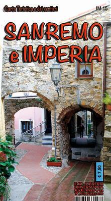 Cocktaillab.it Sanremo e Imperia. Carta dei sentieri 1:25.000. Ediz. multilingue Image