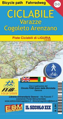 CI 3 ciclabile Varazze Cogoleto Arenzano 1:25.000. Ediz. italiana, inglese e tedesco.pdf