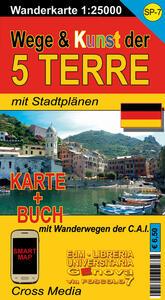 SP 7 Wege & Kunst der Cinque Terre 1:25.000