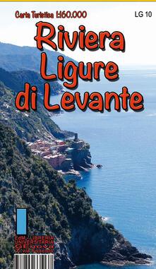 Listadelpopolo.it Riviera ligure di levante. Carta turistica 1: 160.000 Image