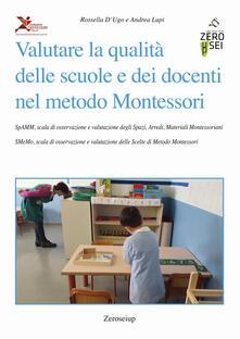 Daddyswing.es Valutare la qualità delle scuole e dei docenti nel metodo Montessori Image