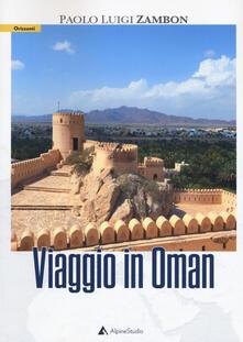 Viaggio in Oman - Paolo Luigi Zambon - copertina