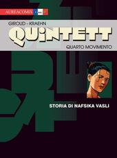 Libro Quarto movimento: storia di Nafsika Vasli. Quintett. Vol. 4 Frank Giroud