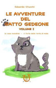 Antondemarirreguera.es Le avventure del gatto Gedeone. Vol. 1: La casa invisibile-Il furto della torta di mele. Image