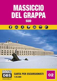 Letterarioprimopiano.it Massiccio del Grappa sud. Carta per escursionisti 1:25.000 Image