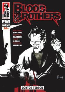 Festivalpatudocanario.es Doktor terror. Blood brothers. Vol. 3 Image