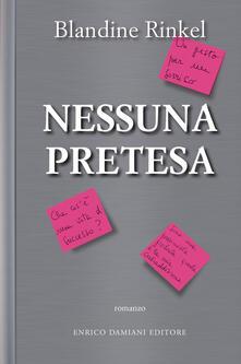 Nessuna pretesa - Blandine Rinkel - copertina
