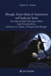 Streghe, esseri fatati ed incantesimi nell'Italia del nord. La magia popolare delle saghe italiane dagli etruschi all''800