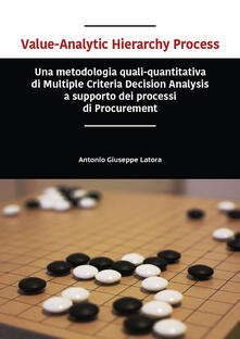 Value-analytic hierarchy process. Una metodologia quali-quantitativa di multiple criteria decision analysis a supporto dei processi di procurement - Antonio Giuseppe Latora - copertina