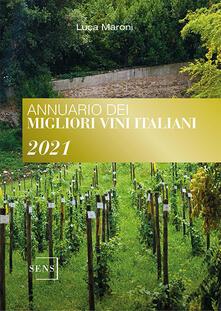 Annuario dei migliori vini italiani 2021 - Luca Maroni - copertina