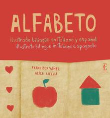 Antondemarirreguera.es Alfabeto illustrato bilingue in italiano e spagnolo Image
