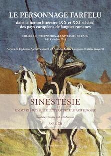 Le personnage farfelu dans la fiction littéraire (XXe et XXIe siècles) des pays européens de languages romanes - copertina