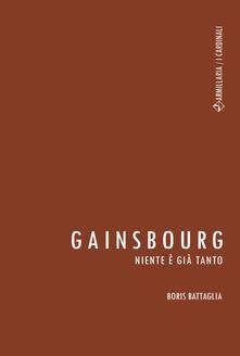 Filippodegasperi.it Gainsbourg. Niente è già tanto Image
