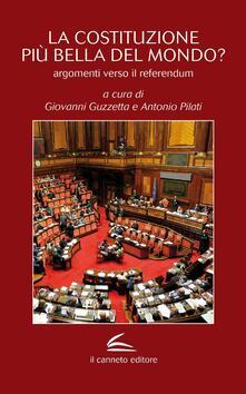 La Costituzione più bella del mondo? Argomenti verso il referendum - copertina
